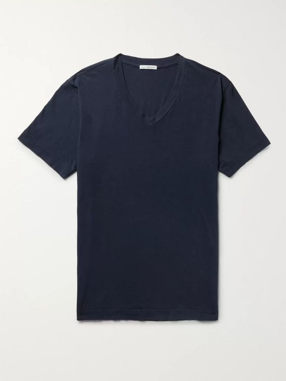 James Perse Slim-Fit Combed Cotton-Jersey T-Shirt