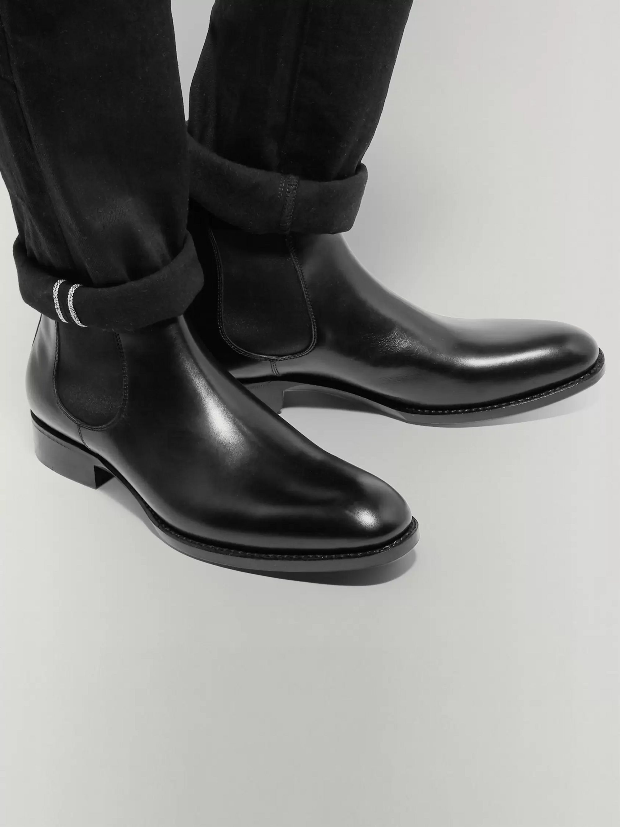 SALLE PRIVÉE Walter Leather Chelsea Boots