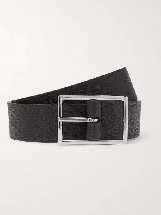 Anderson's 3cm Reversible Full-Grain Leather Belt
