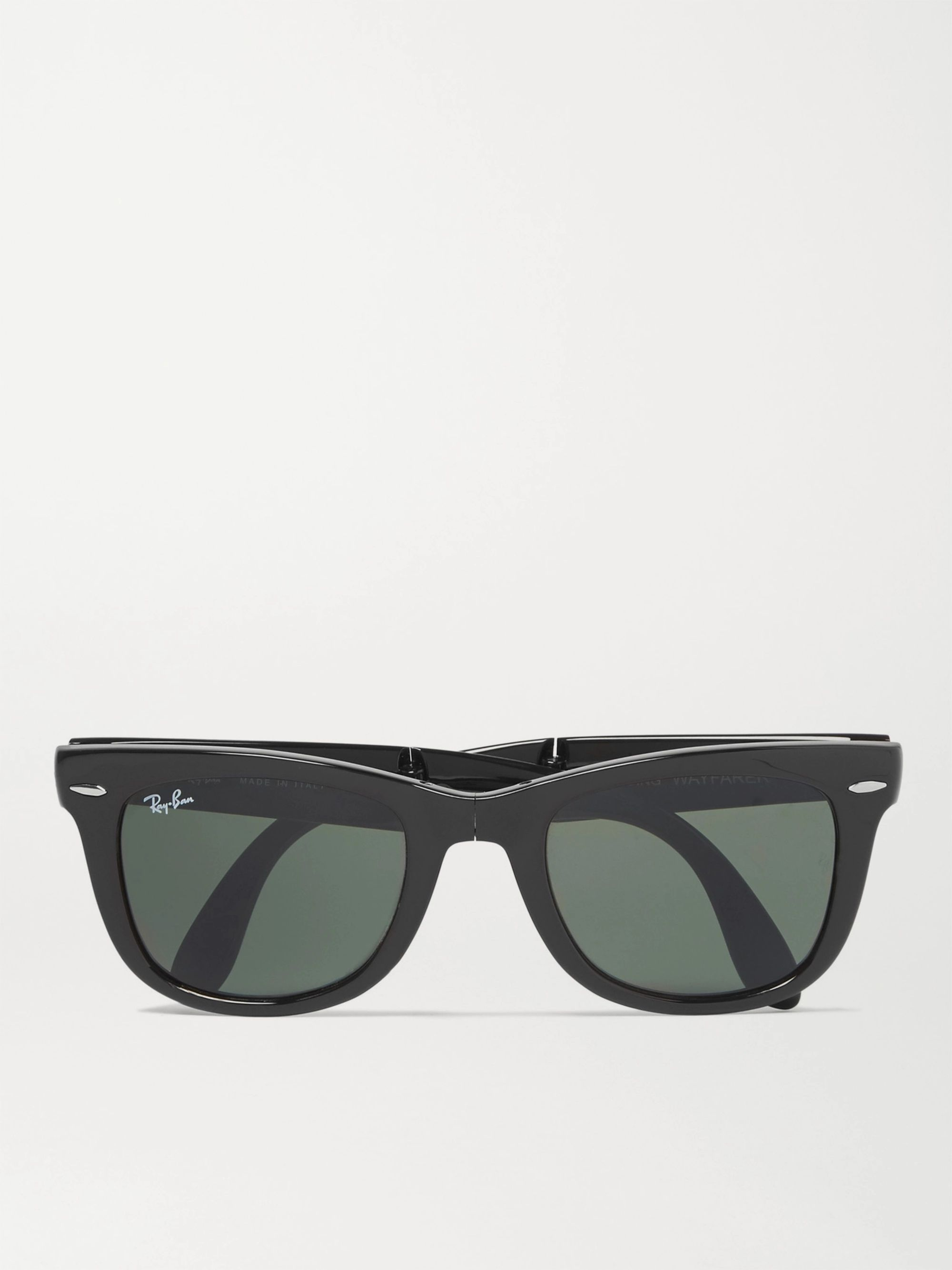 Wayfarer Folding Acetate Sunglasses