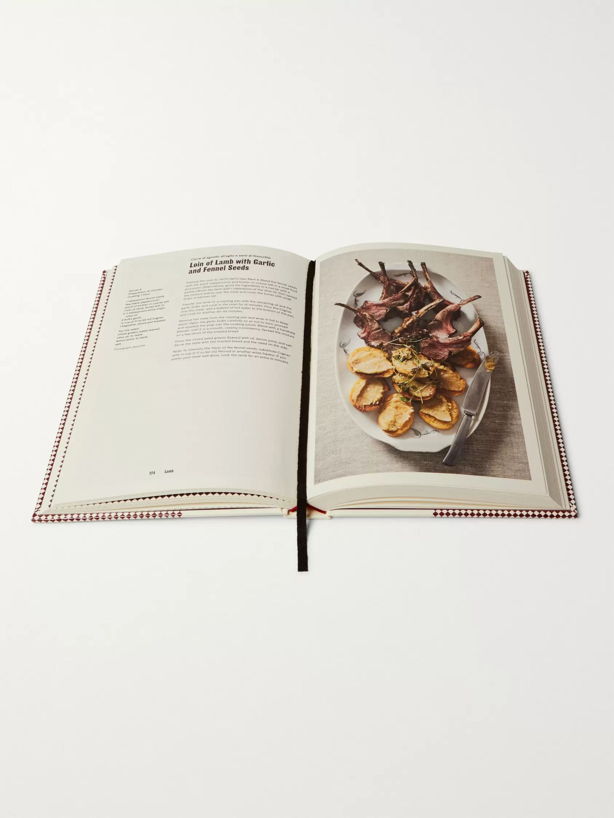 Phaidon Recipes From An Italian Butcher Hardcover Book