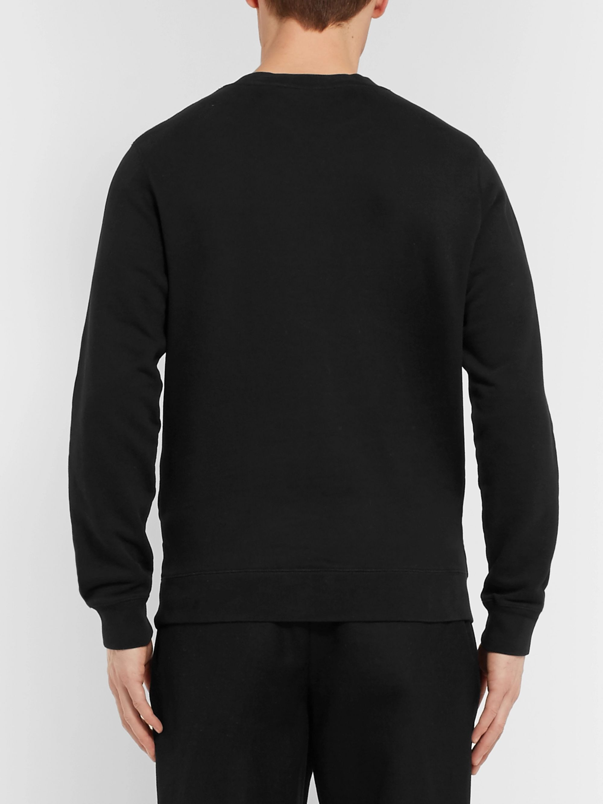 Sunspel Slim-Fit Loopback Cotton-Jersey Sweatshirt