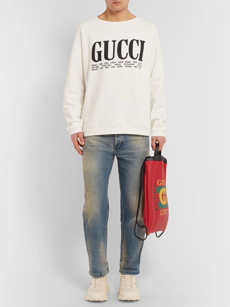 Gucci Distressed Denim Jeans