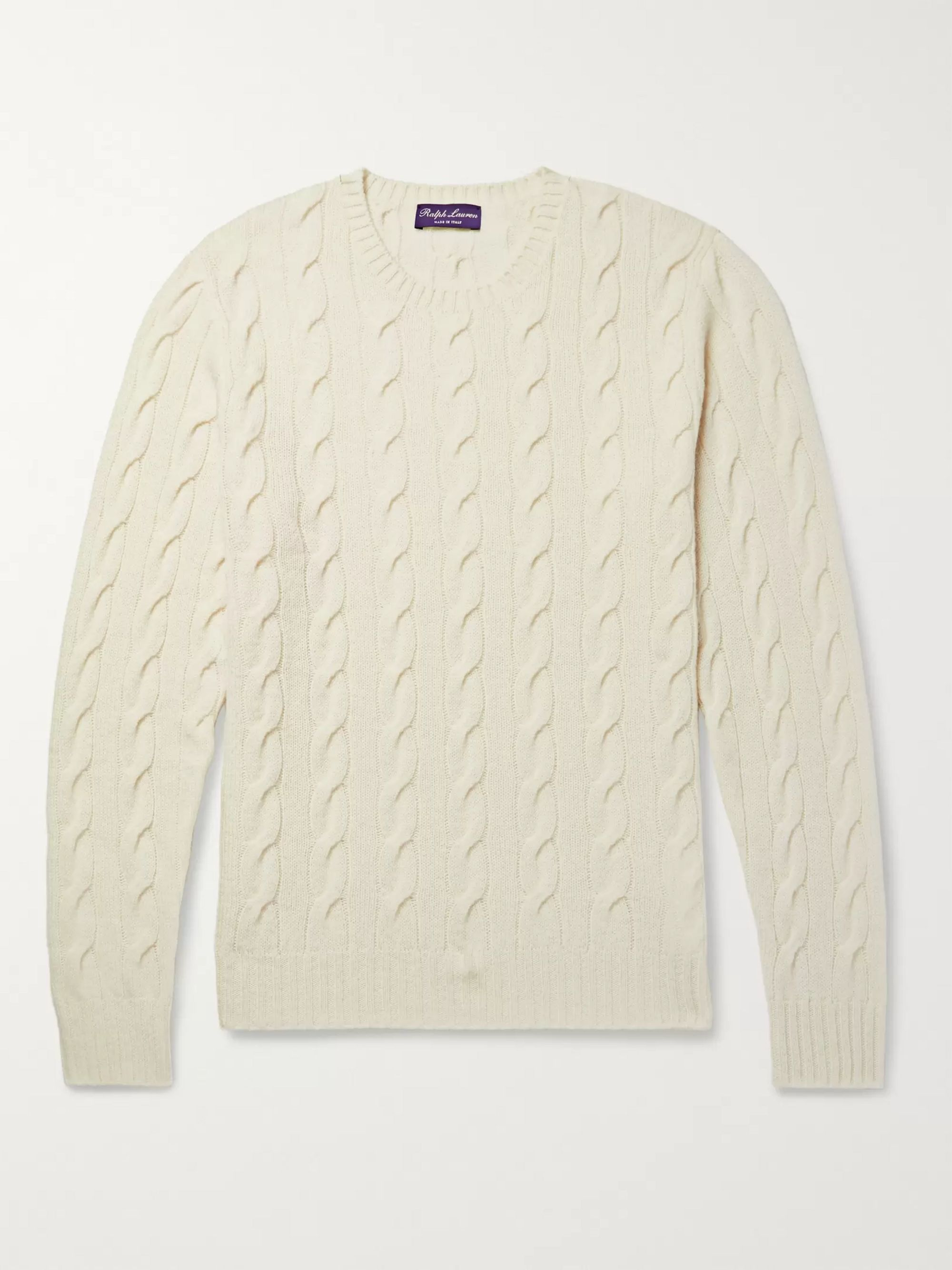sneakers low price multiple colors Cable-Knit Cashmere Sweater