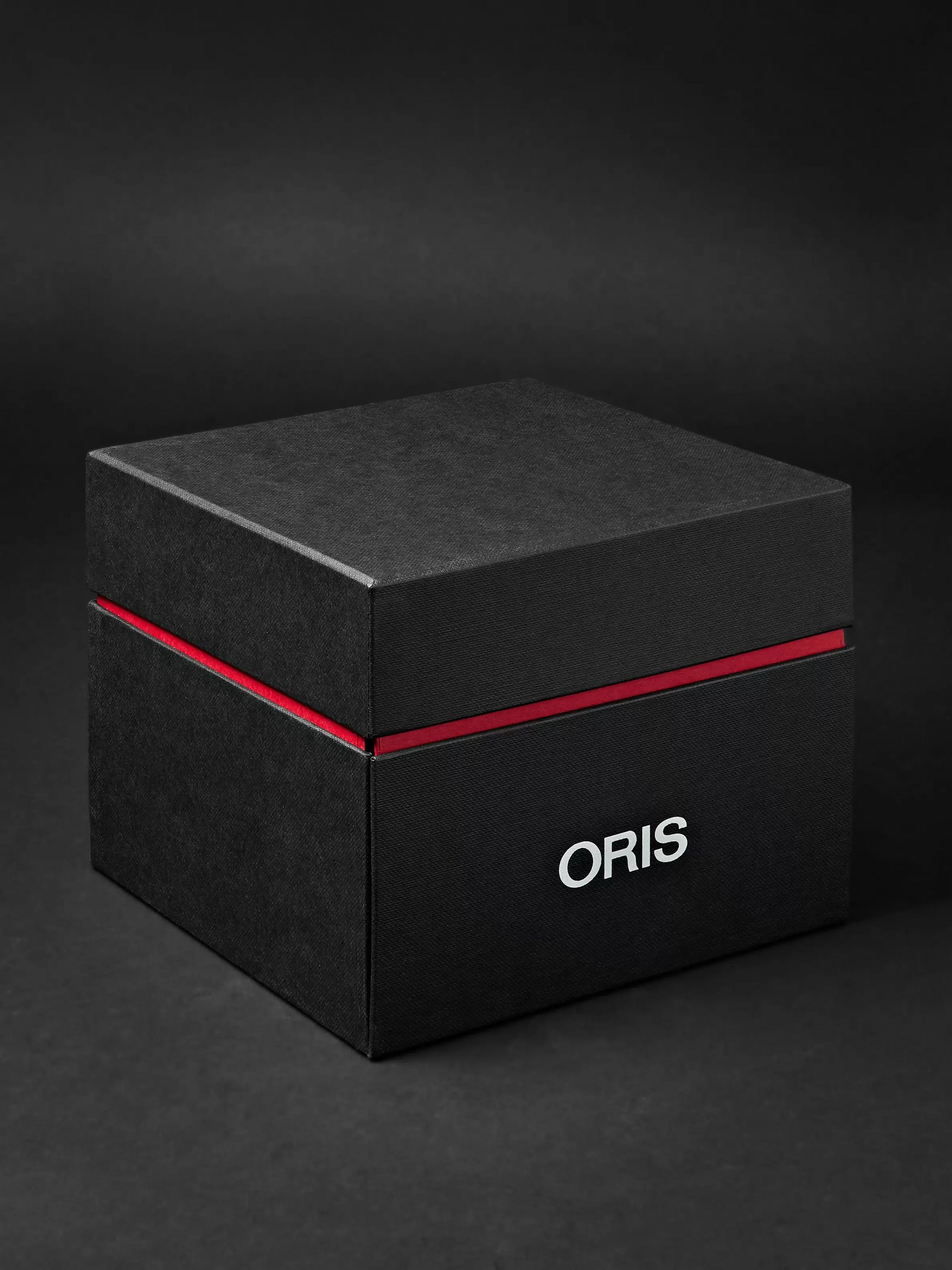 Oris Big Crown ProPilot Day-Date Automatic 45mm Stainless Steel and Suede Watch, Ref. No. 01 752 7698 4063FC