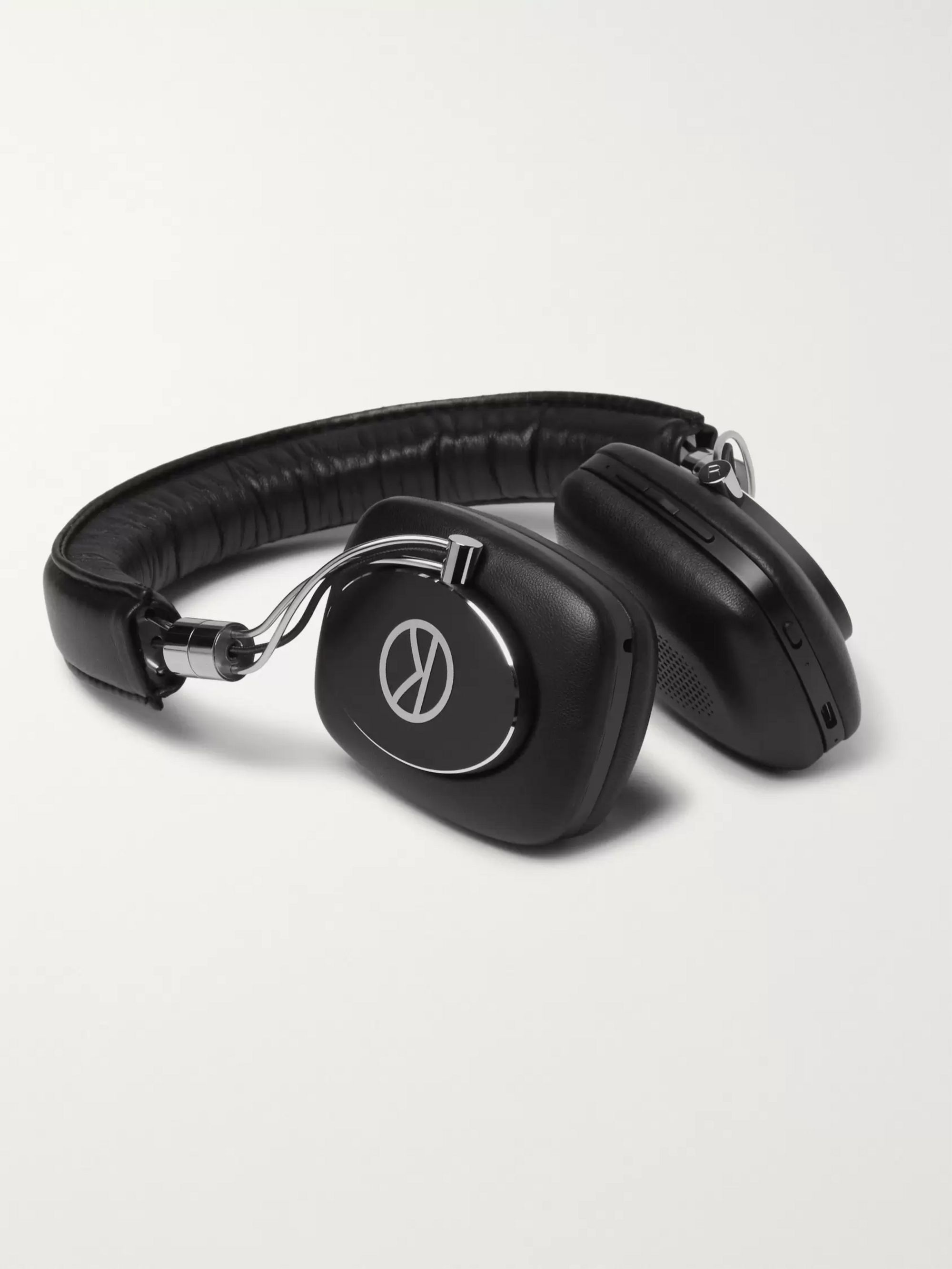 KINGSMAN + Bowers & Wilkins P5W Leather-Covered Wireless Headphones