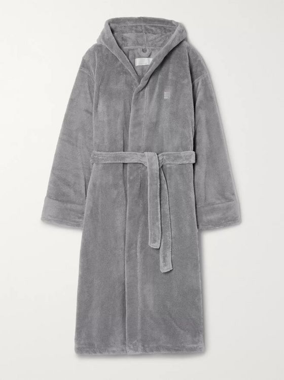 Soho Home Fleece Hooded Robe
