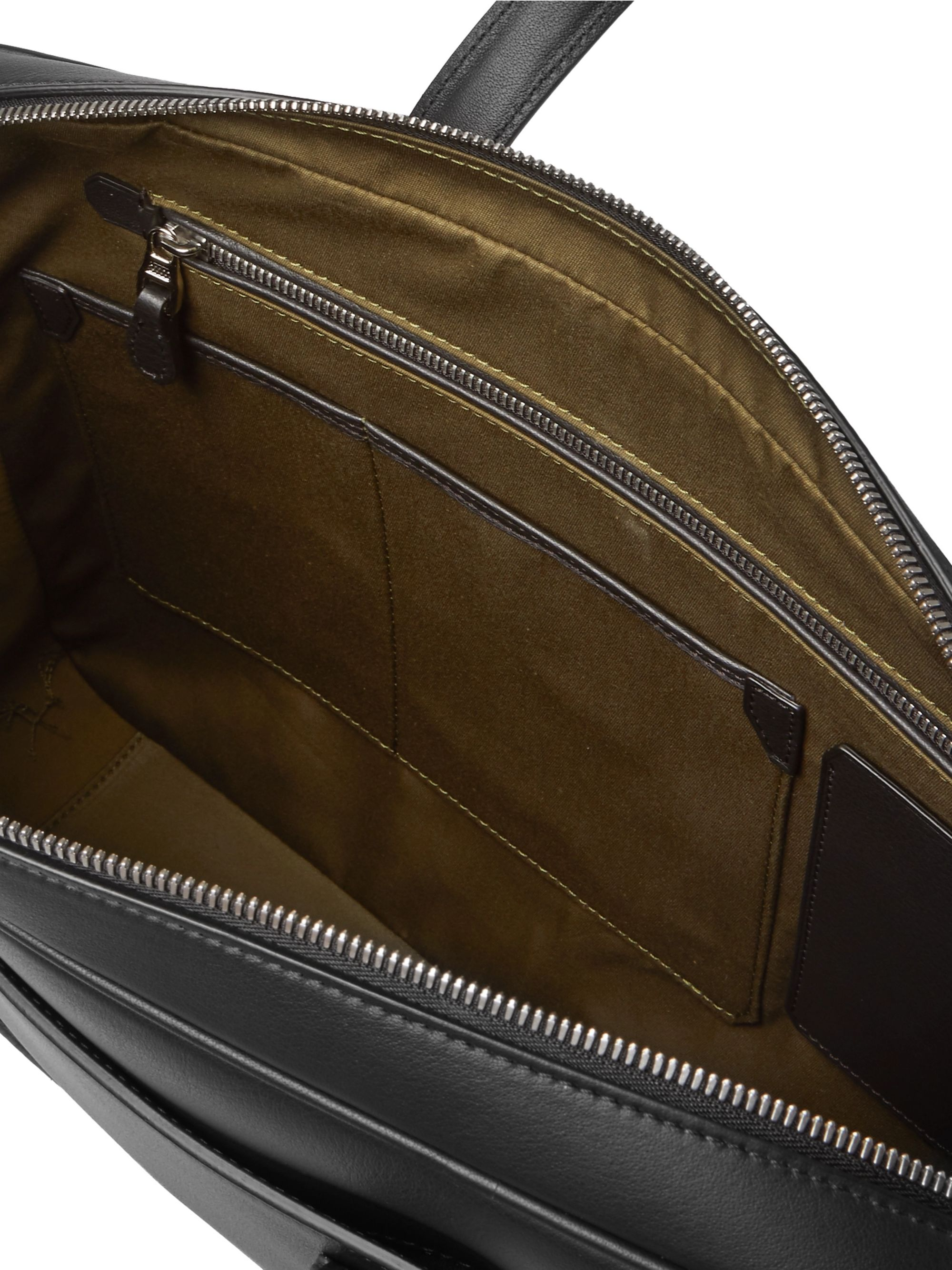 Dunhill Hampstead Leather Briefcase