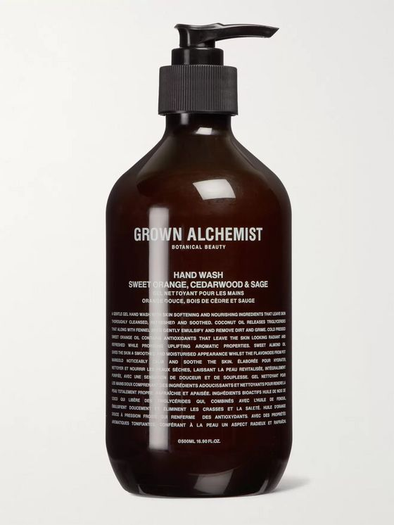 Grown Alchemist Hand Wash - Sweet Orange, Cedarwood & Sage, 500ml