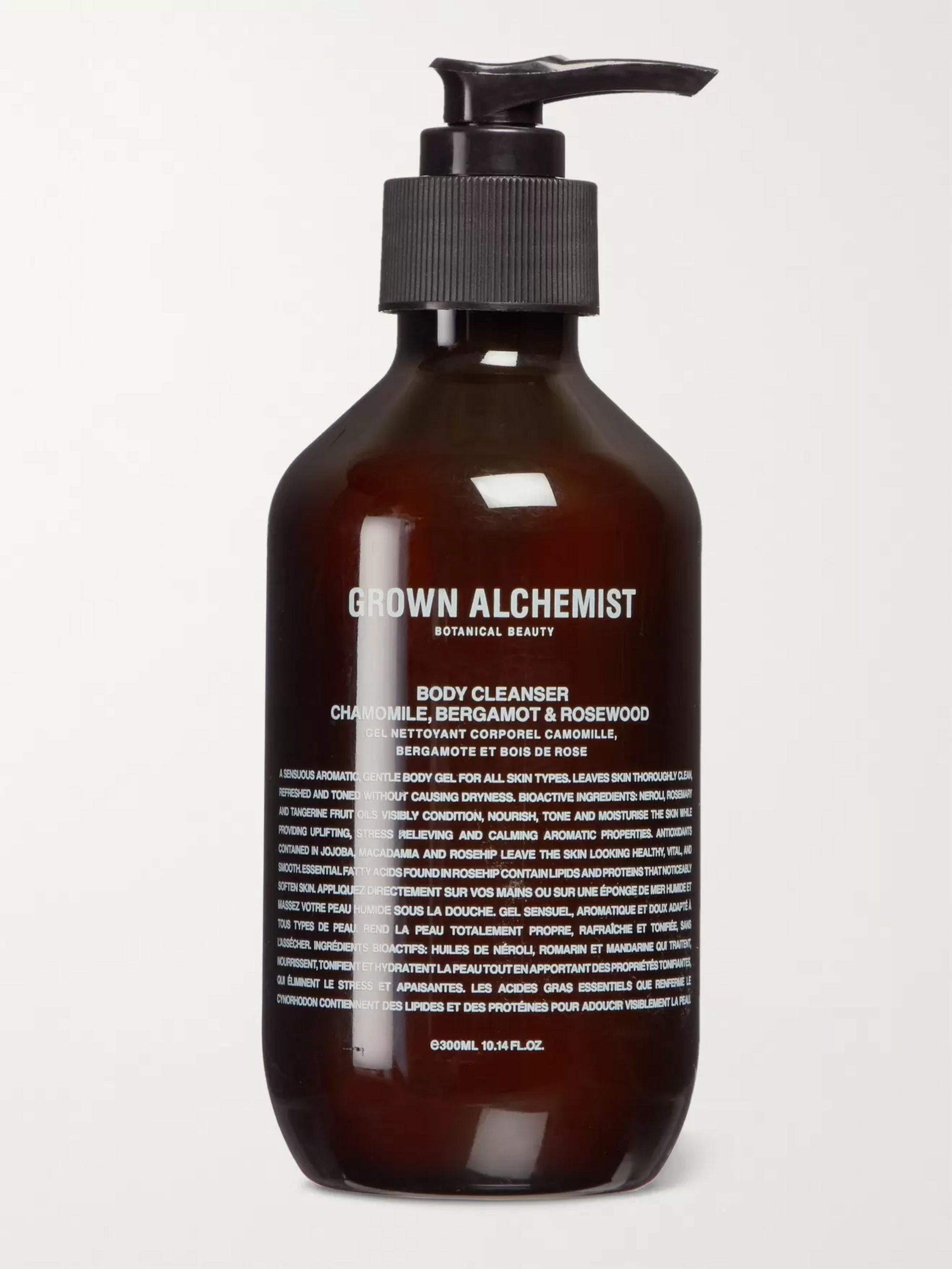 GROWN ALCHEMIST Chamomile, Bergamot & Rosewood Body Cleanser, 300ml