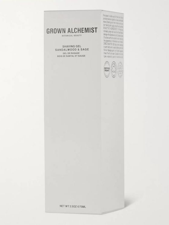 Grown Alchemist Shaving Gel - Sandalwood & Sage, 75ml