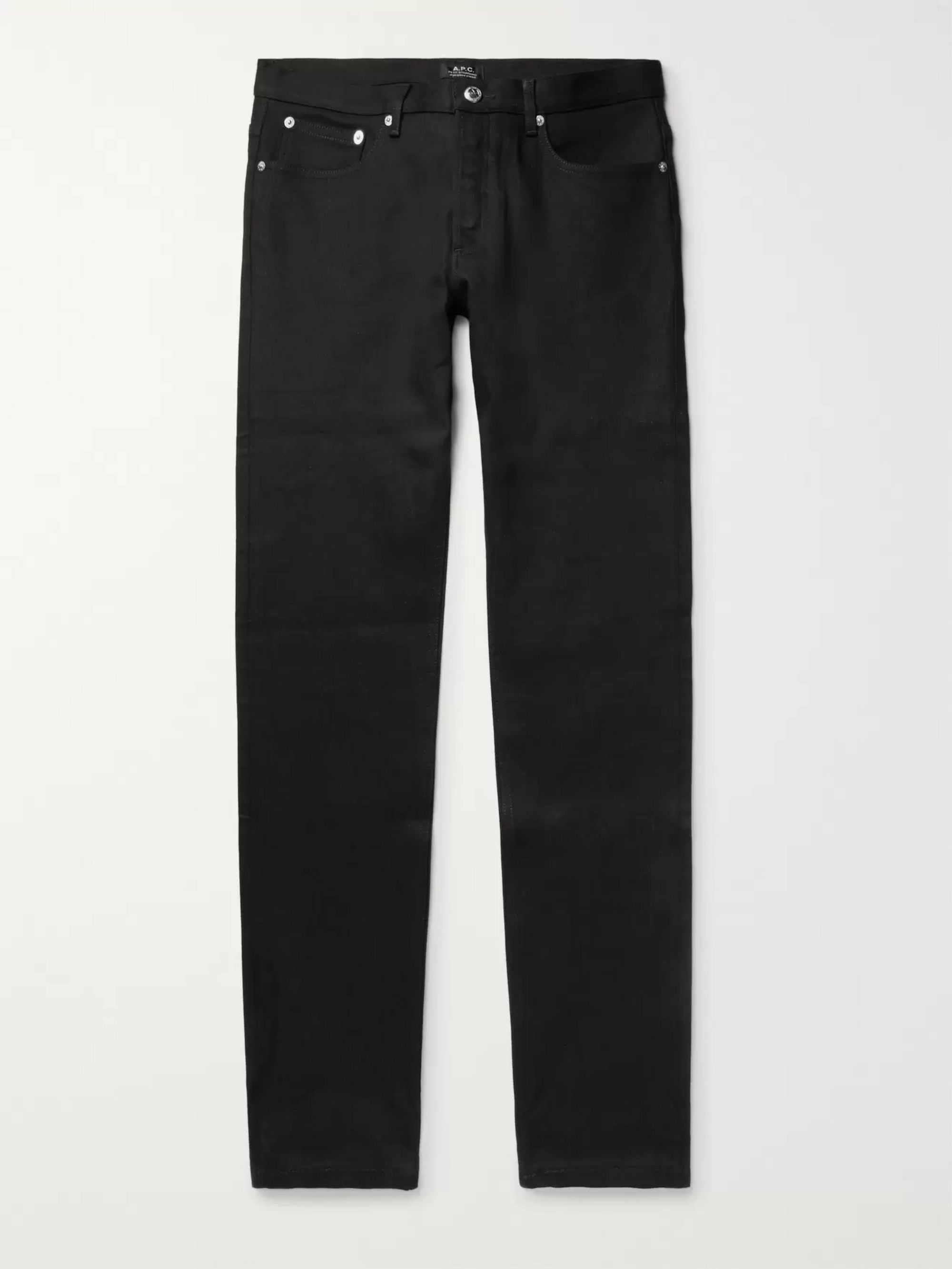 Petit Standard Slim Fit Stretch Denim Jeans