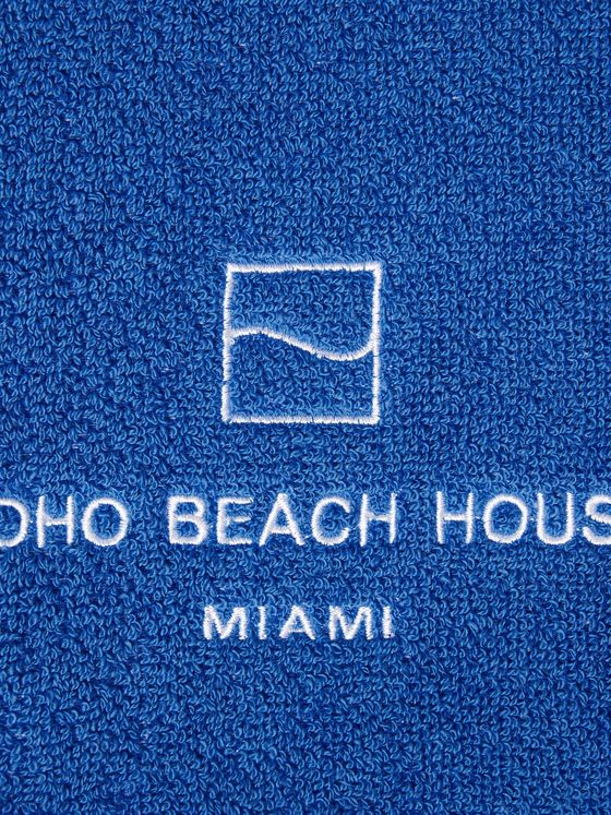 Soho Home Miami House Cotton-Terry Pool Towel