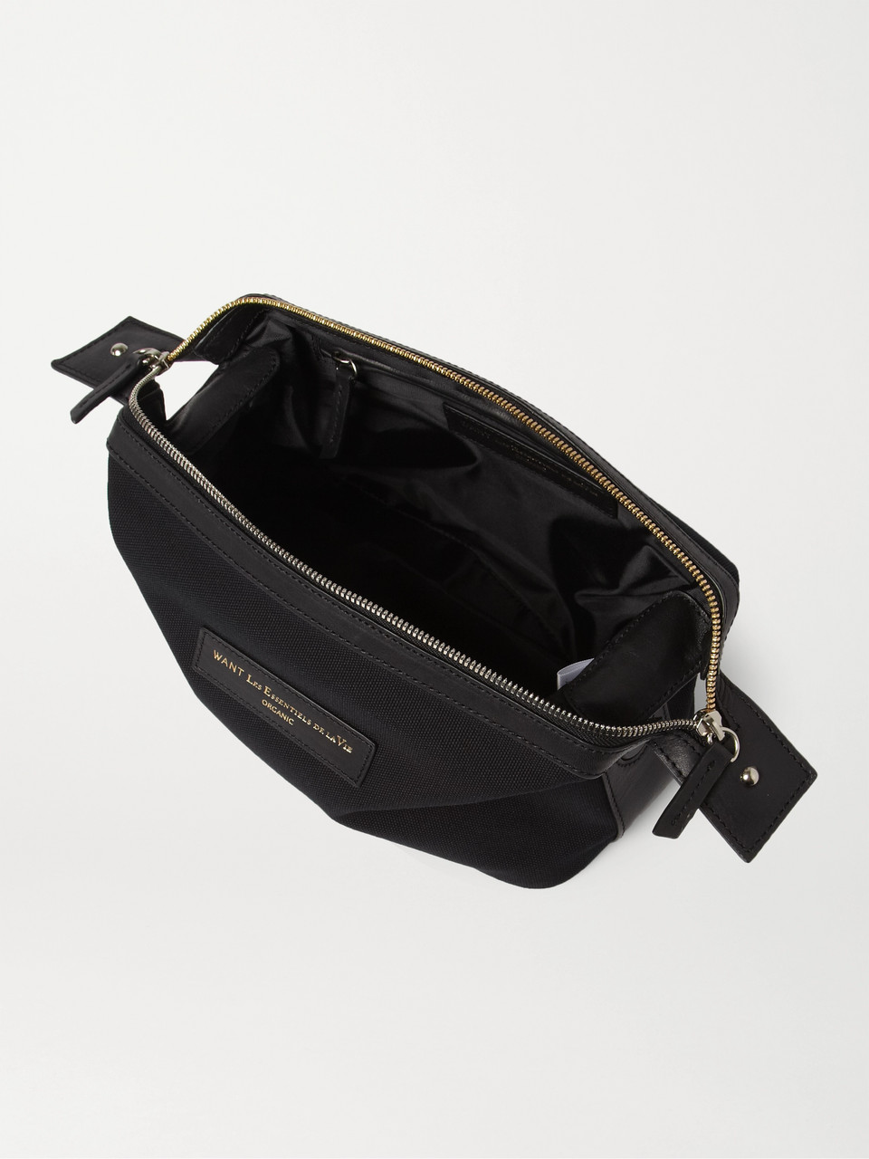 WANT LES ESSENTIELS Kenyatta Organic Cotton-Canvas Wash Bag