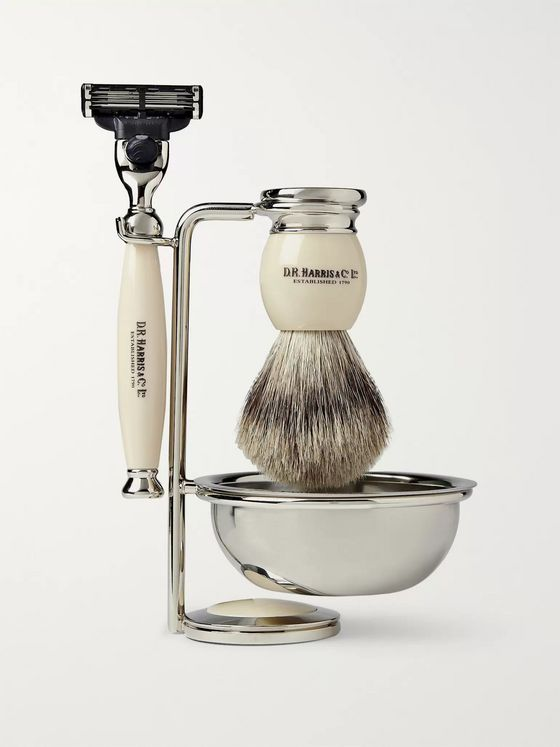 D R Harris Four Piece Shaving Set