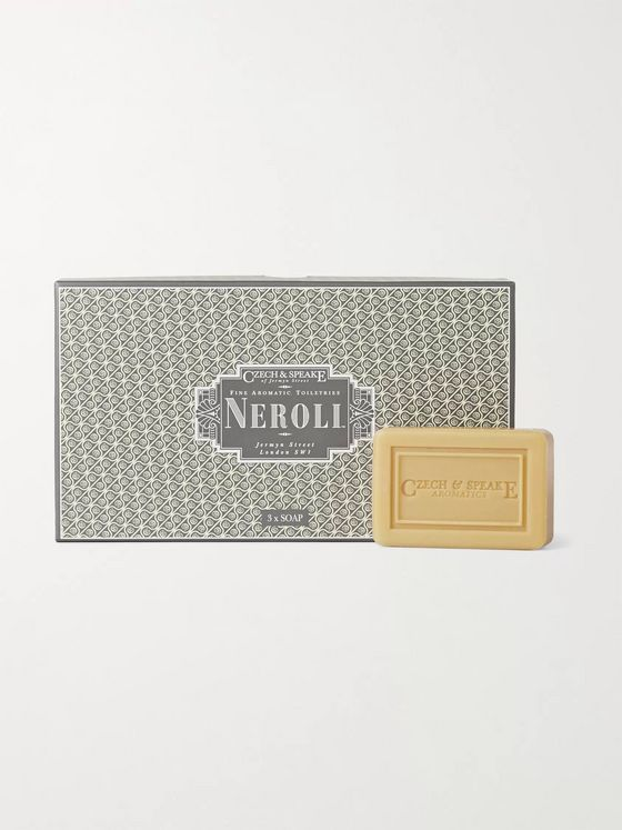 Czech & Speake Set of Three Neroli Soap Bars, 3 x 75g
