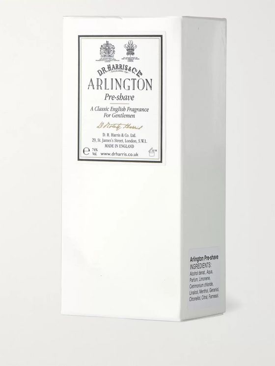 D R Harris Arlington Pre-Shave Lotion, 100ml