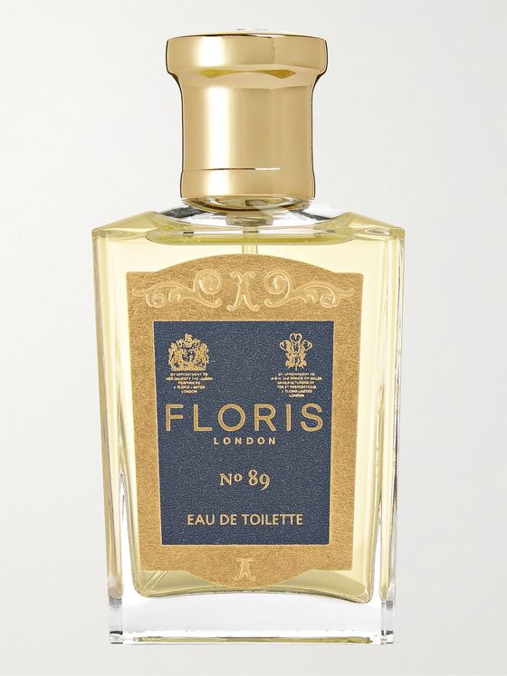Floris London No.89 Eau de Toilette  - Bergamot & Sandalwood, 50ml