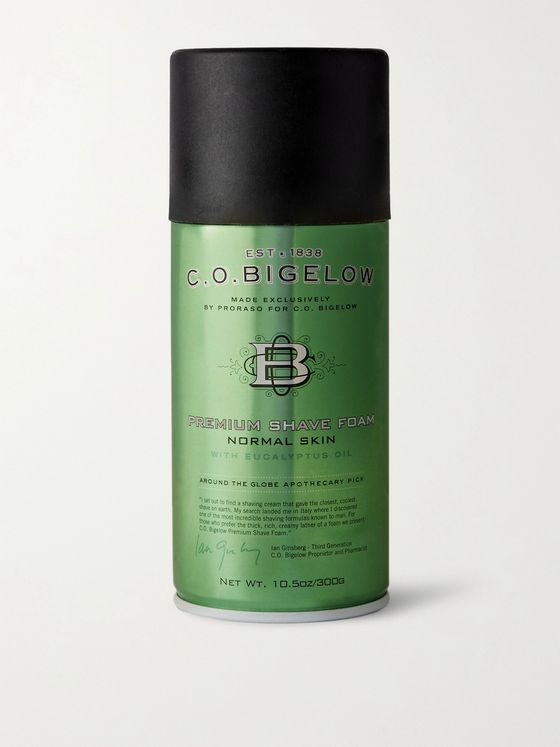 C.O. Bigelow Premium Shave Foam, 300ml