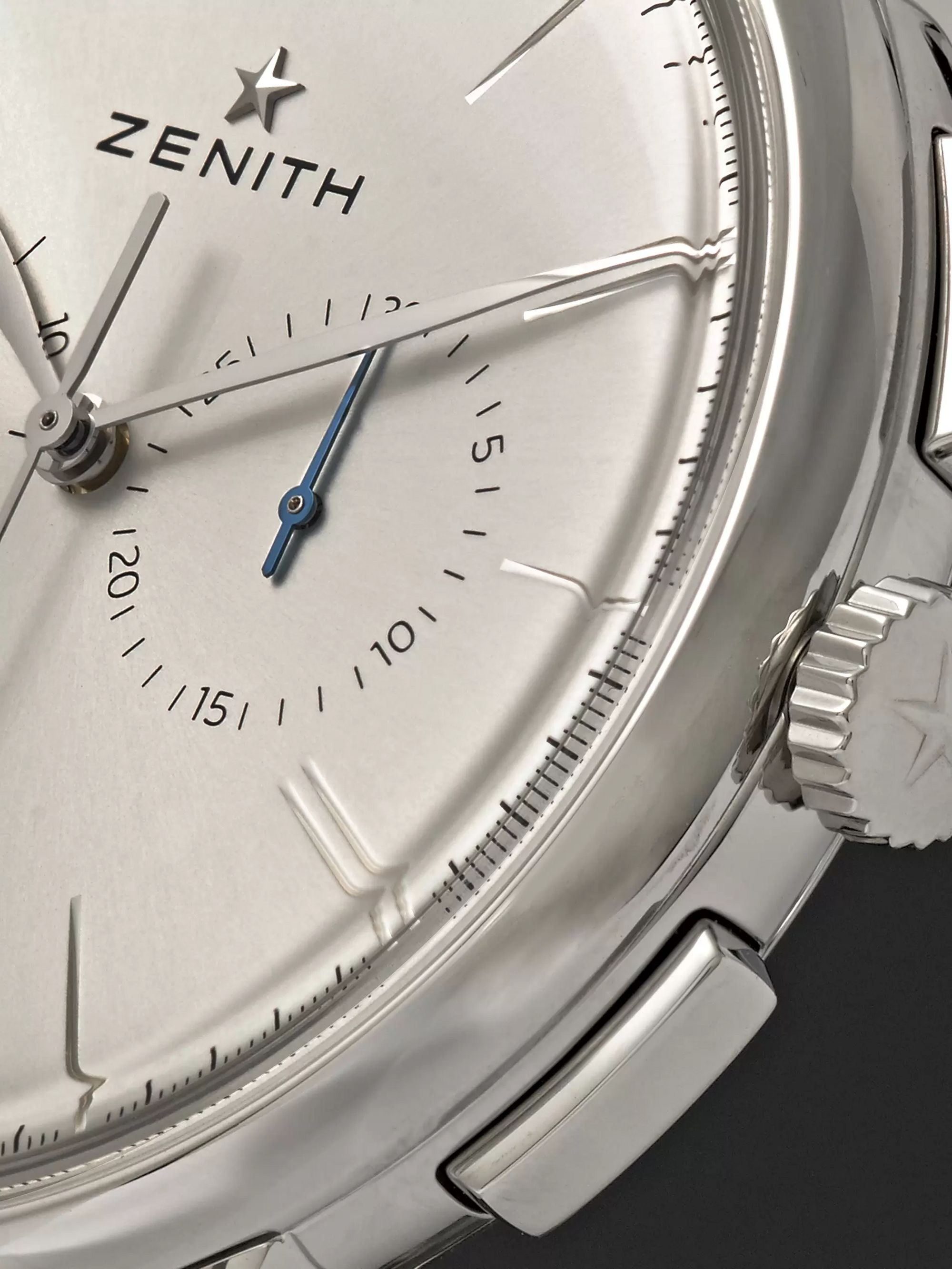 Zenith Elite Chronograph Classic 42mm Stainless Steel and Alligator Watch
