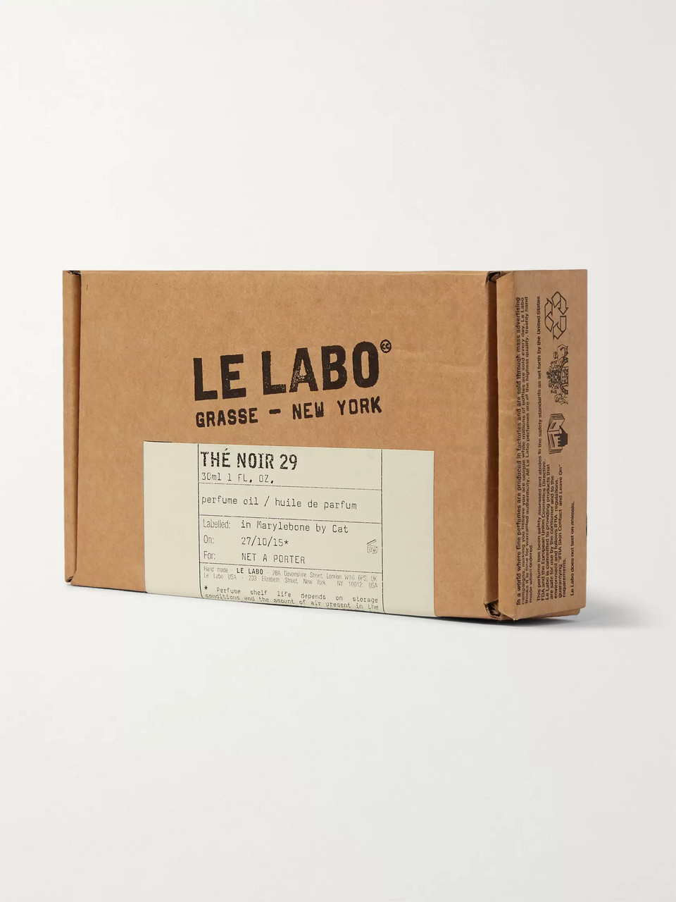 Le Labo Thé Noir 29 Perfume Oil - Black Tea, 30ml
