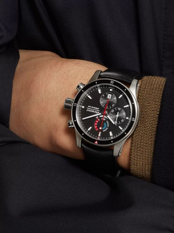 Bremont Oracle Team USA Regatta Chronograph 43mm Titanium and Rubber Watch, Ref. No. OTUSA-R/BK