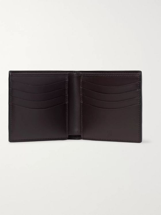 Dunhill Embossed Chassis Leather Billfold Wallet