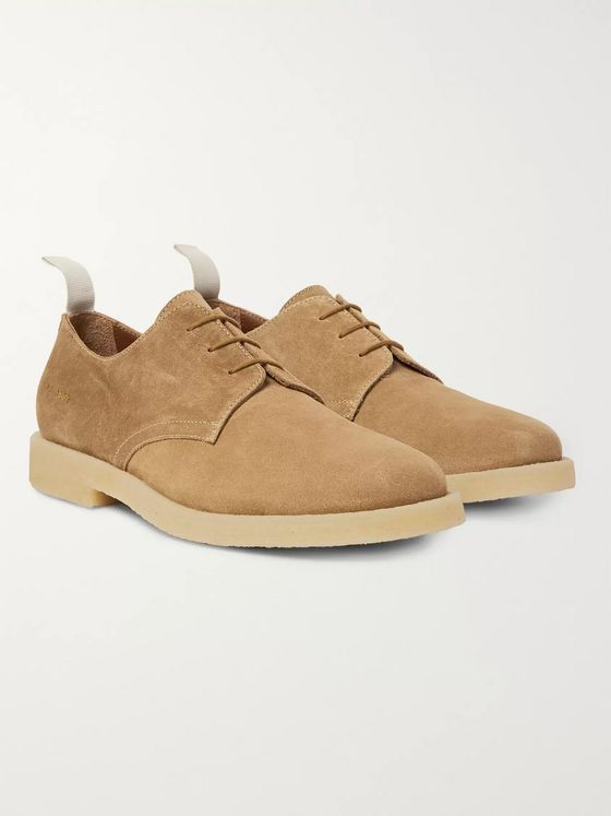 Common Projects Cadet Suede Derby Shoes