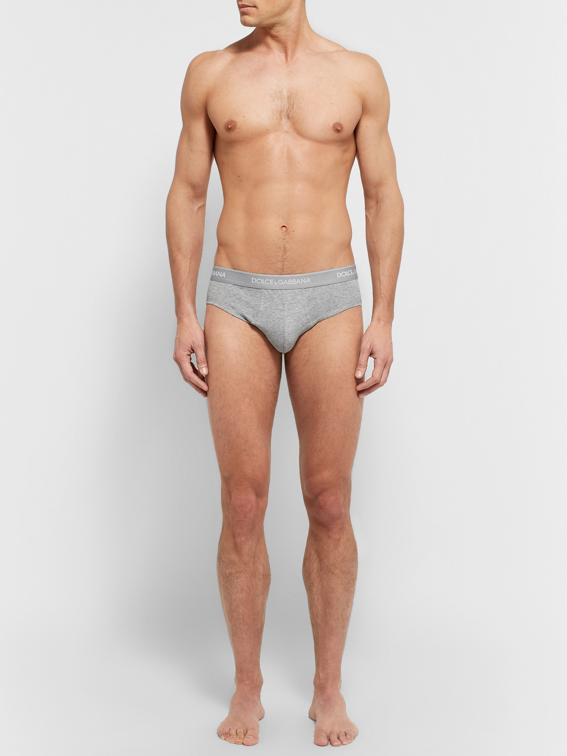 Dolce & Gabbana Pants TWO-PACK STRETCH-COTTON BRIEFS