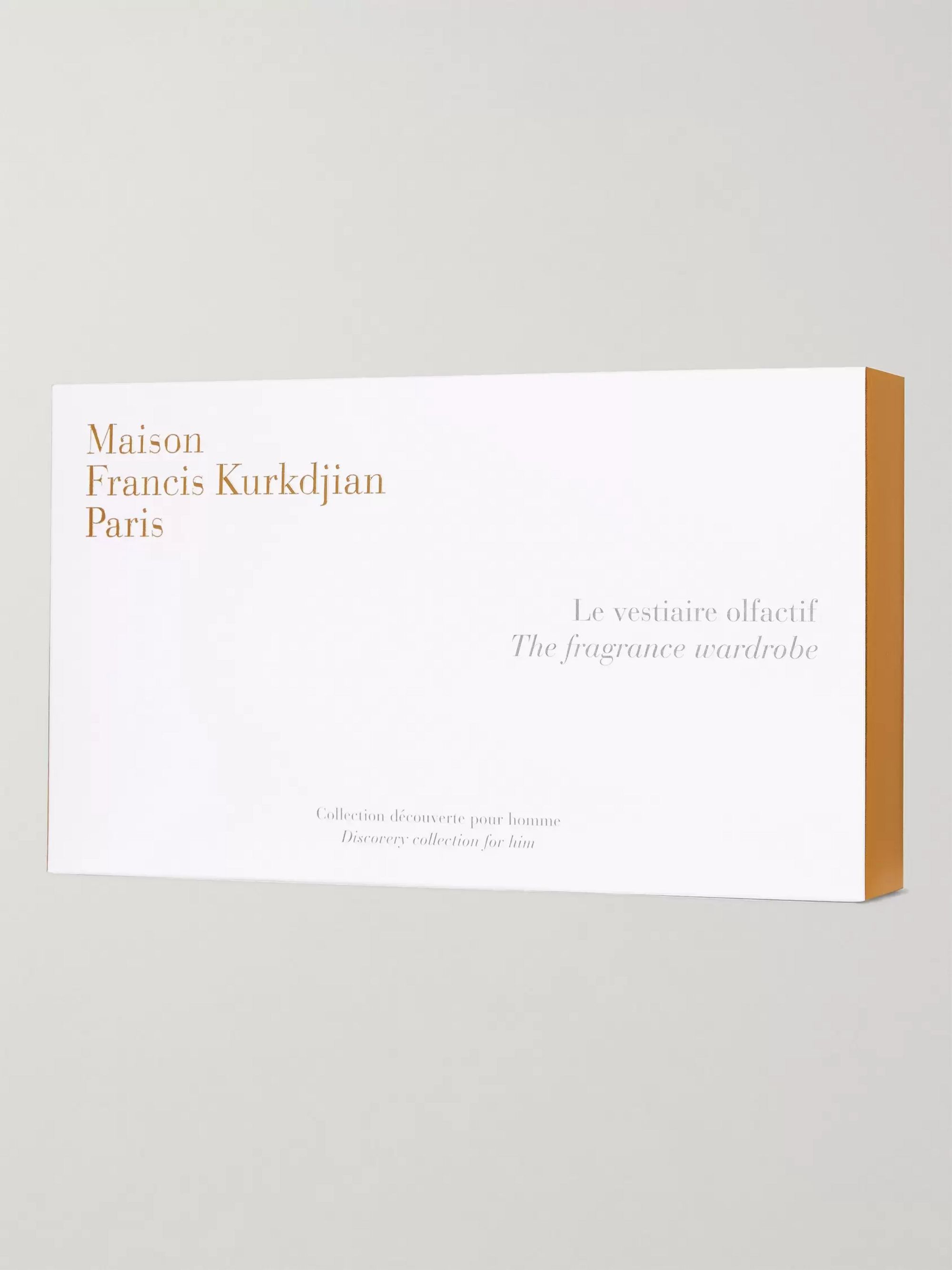 Maison Francis Kurkdjian The Fragrance Wardrobe - Discovery Collection for Him, 8 x 11ml