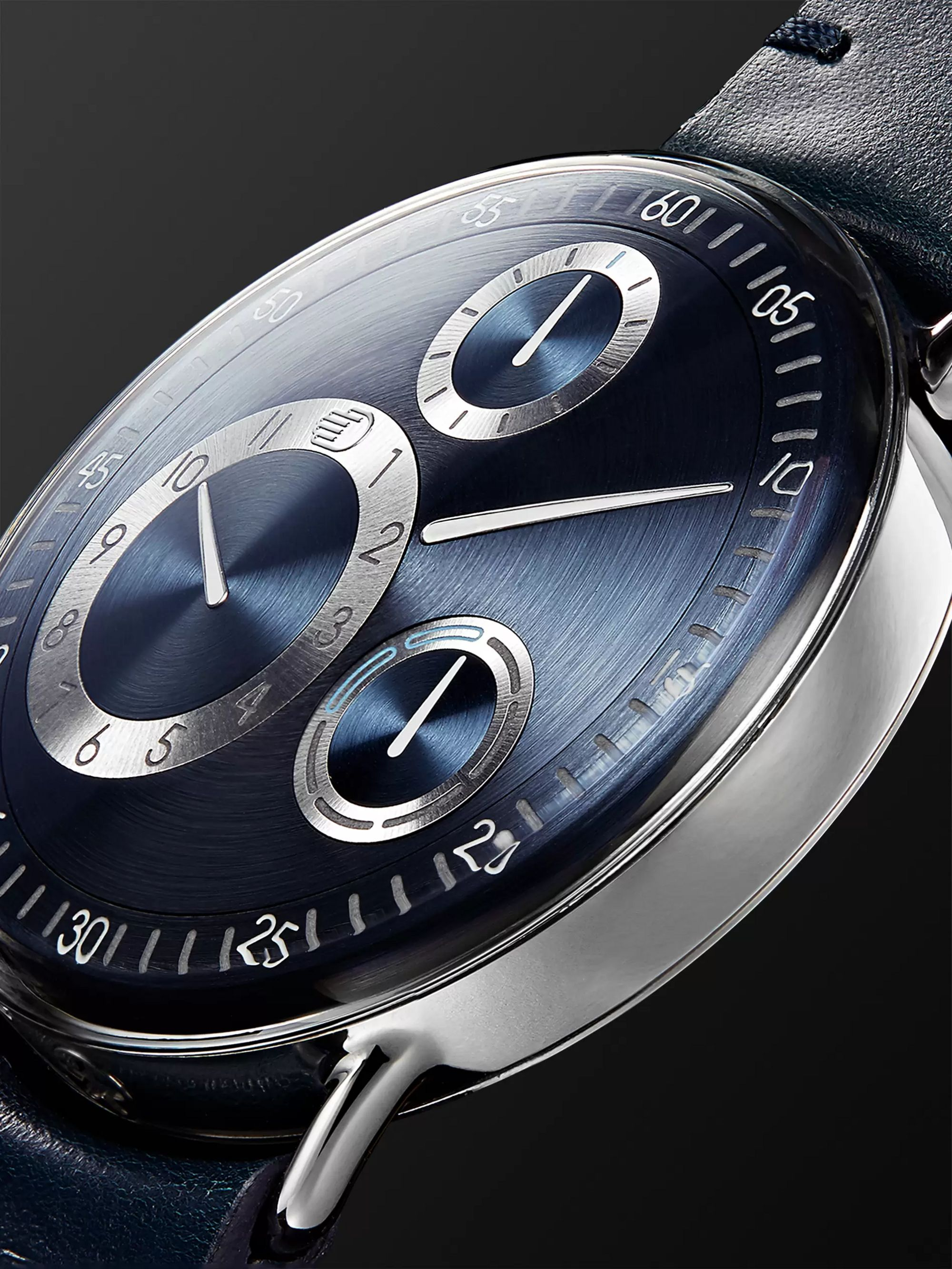 Ressence Type 1 MRP Mechanical 42mm Titanium and Leather Watch, Ref. No. TYPE 1N