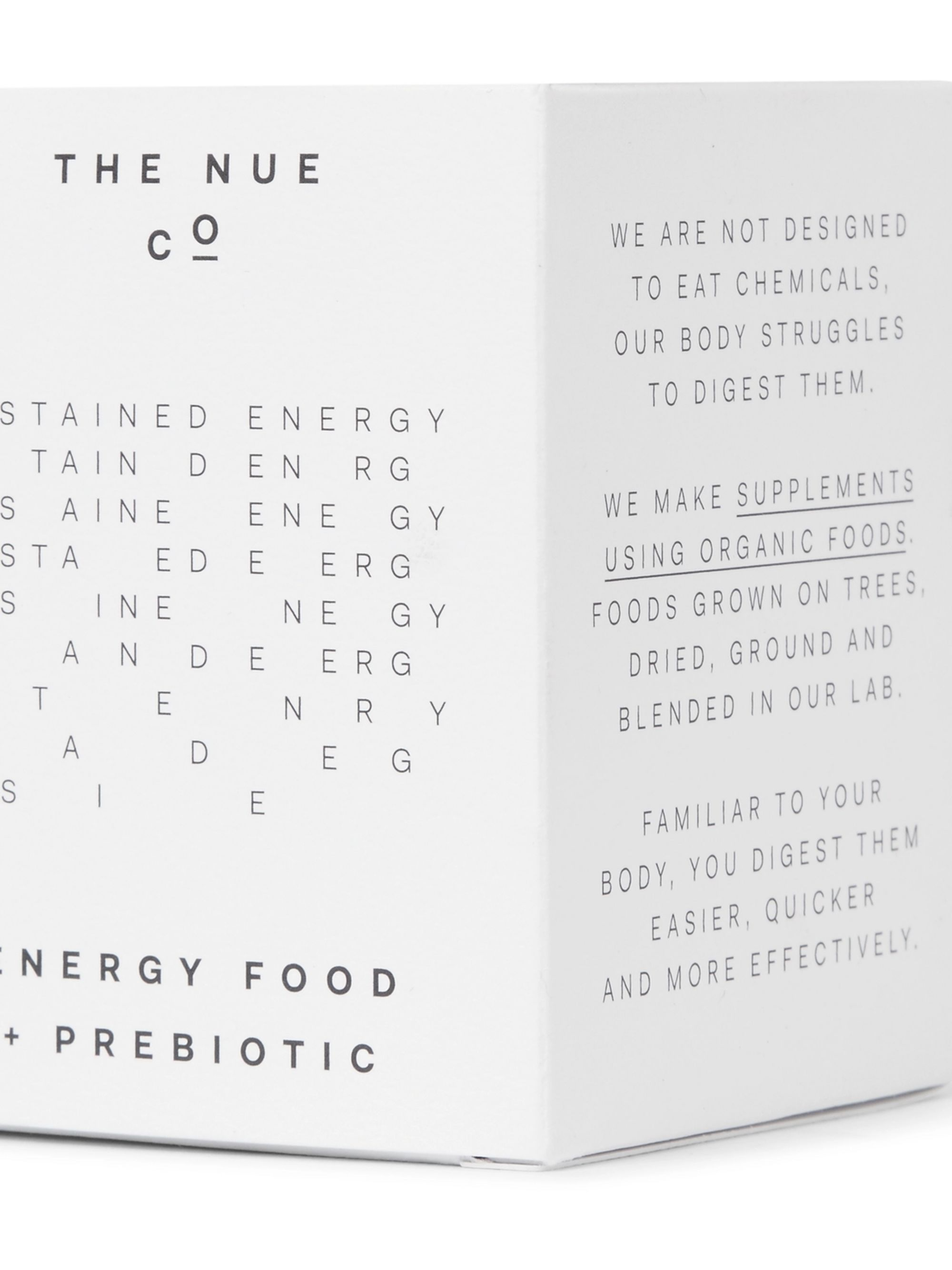 The Nue Co. Energy Food + Prebiotic, 100g