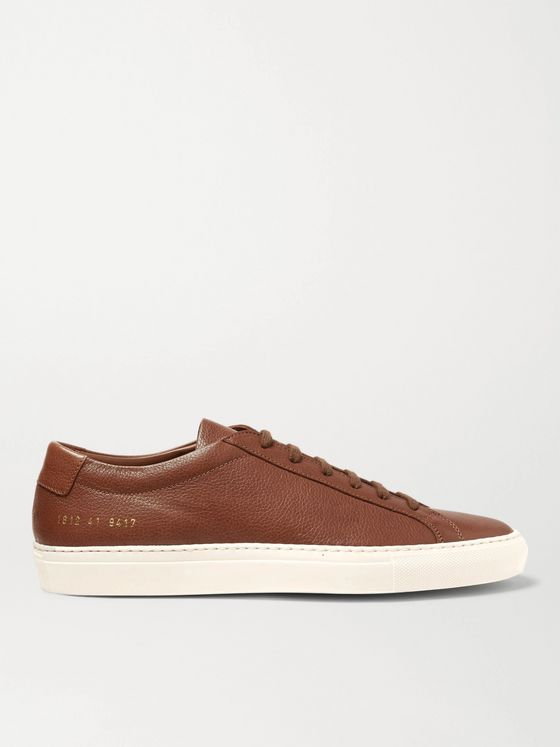 COMMON PROJECTS Original Achilles Full-Grain Leather Sneakers