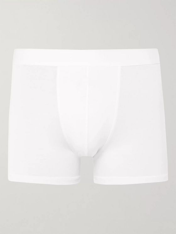Zimmerli Pureness Stretch-Micro Modal Boxer Briefs