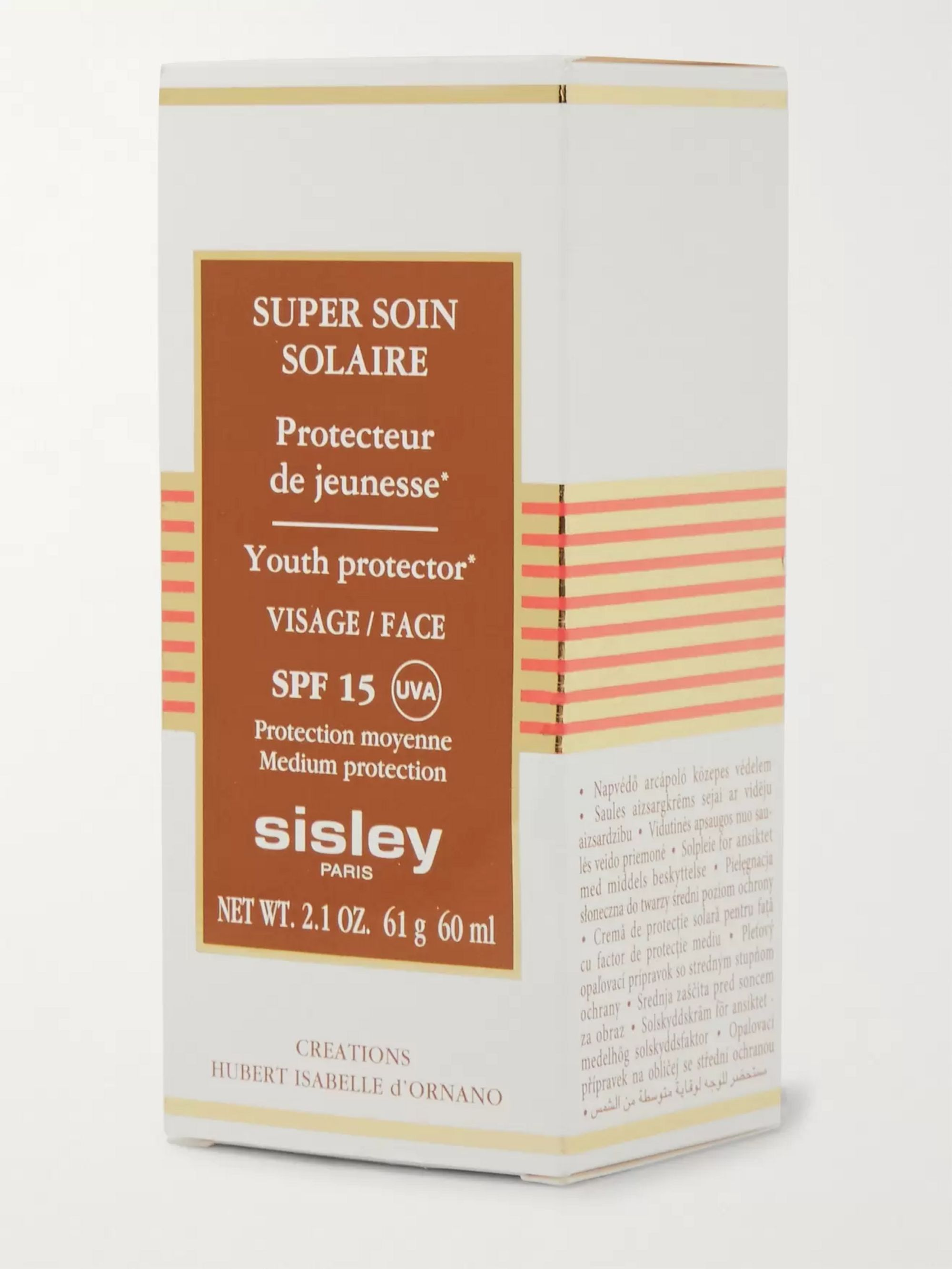 Sisley - Paris Super Soin Solaire Facial Youth Protector SPF15, 60ml