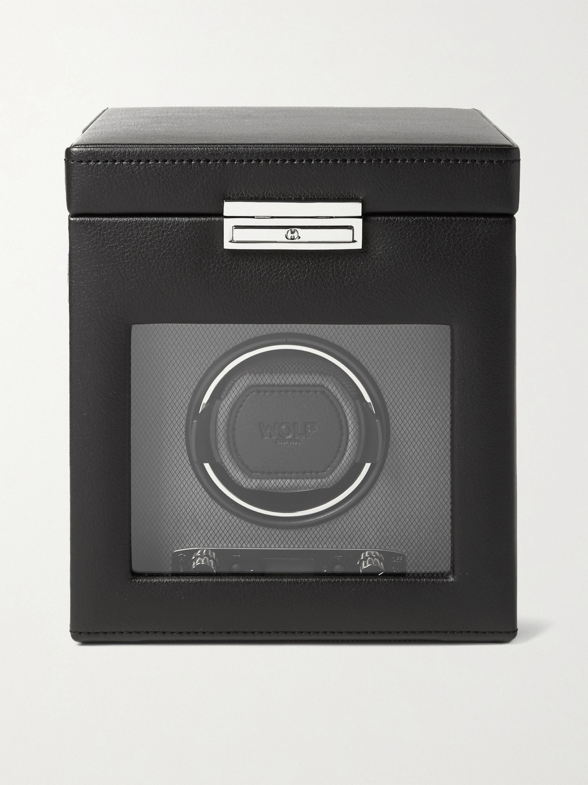 Wolf Viceroy Single Watch Winder In Black