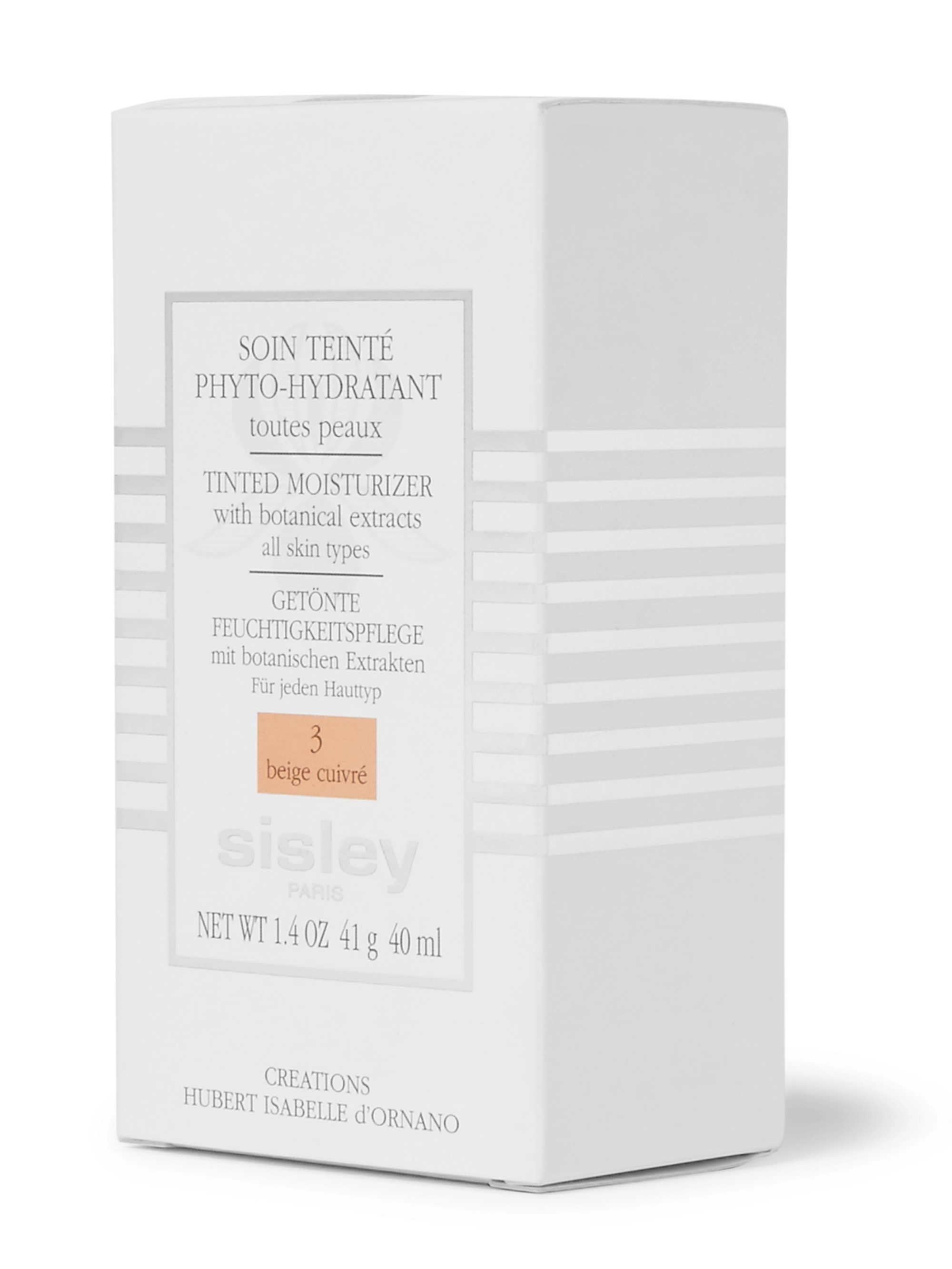 Sisley - Paris Tinted Moisturizer with Botanical Extracts - N3 Beige Cuivré, 40ml