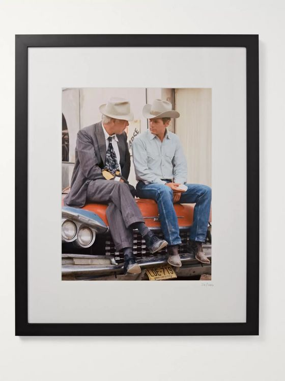 "Sonic Editions Framed Paul Newman and Lee Marvin Pocket Money Print, 17"" x 21"""