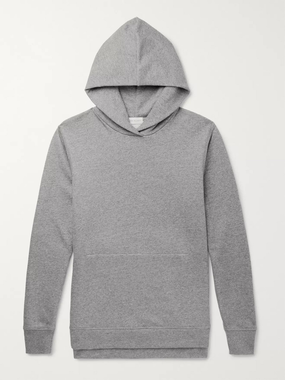 John Elliott Villain Loopback Cotton-Blend Jersey Hoodie