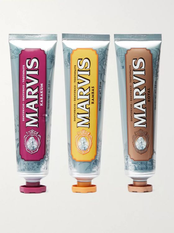 Marvis Wonders of the World Collection Toothpaste Gift Set, 3 x 75ml