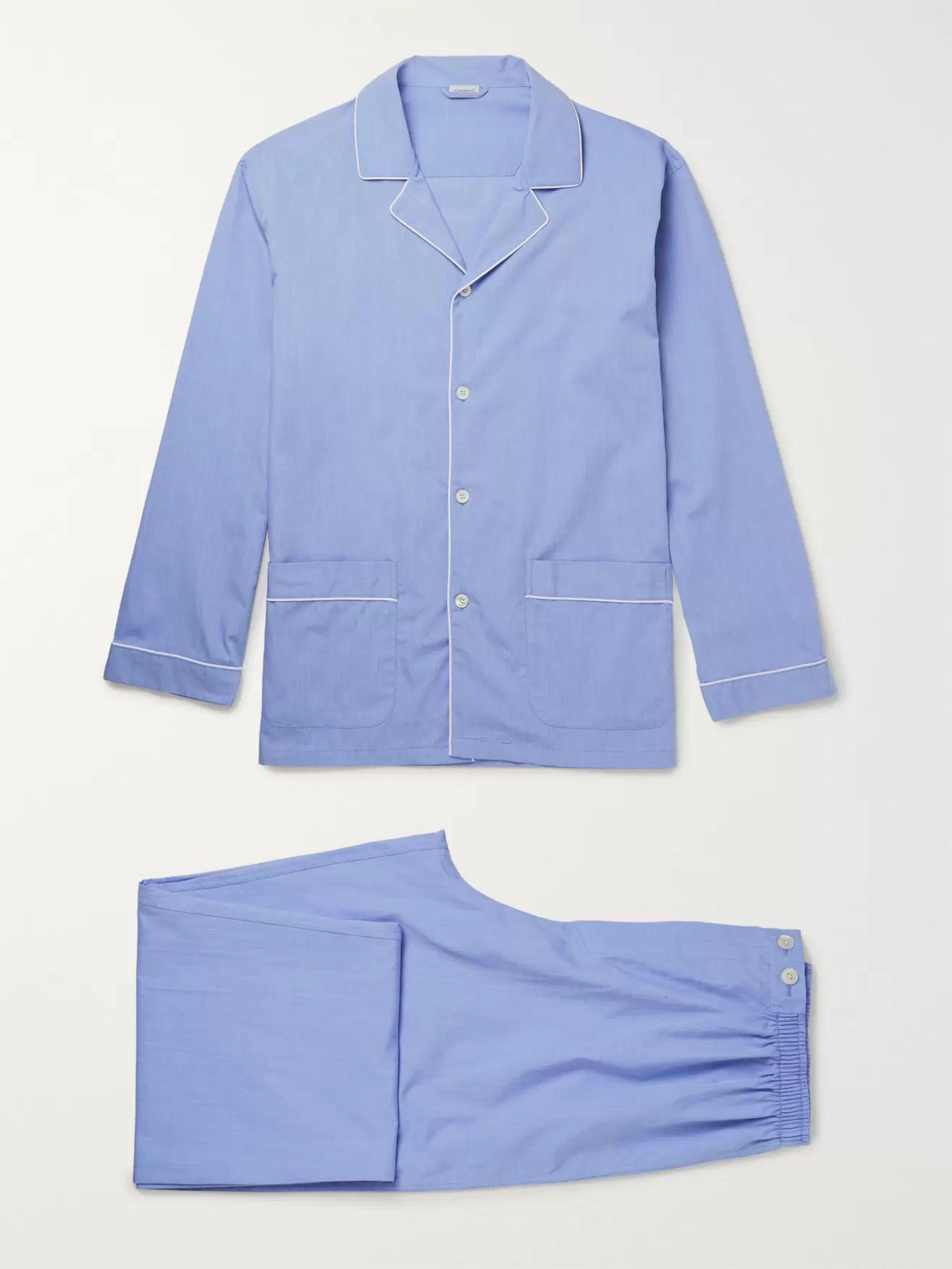 Mercerised Cotton Pyjama Set by Zimmerli