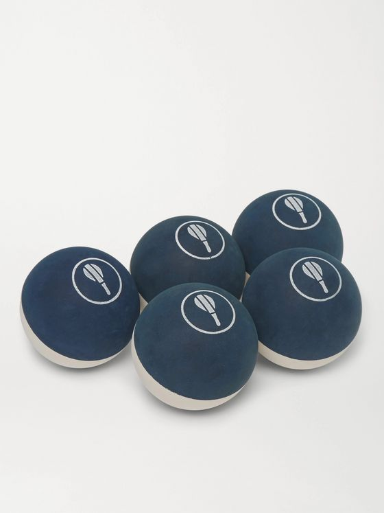 FRESCOBOL CARIOCA Set of Five Rubber Balls