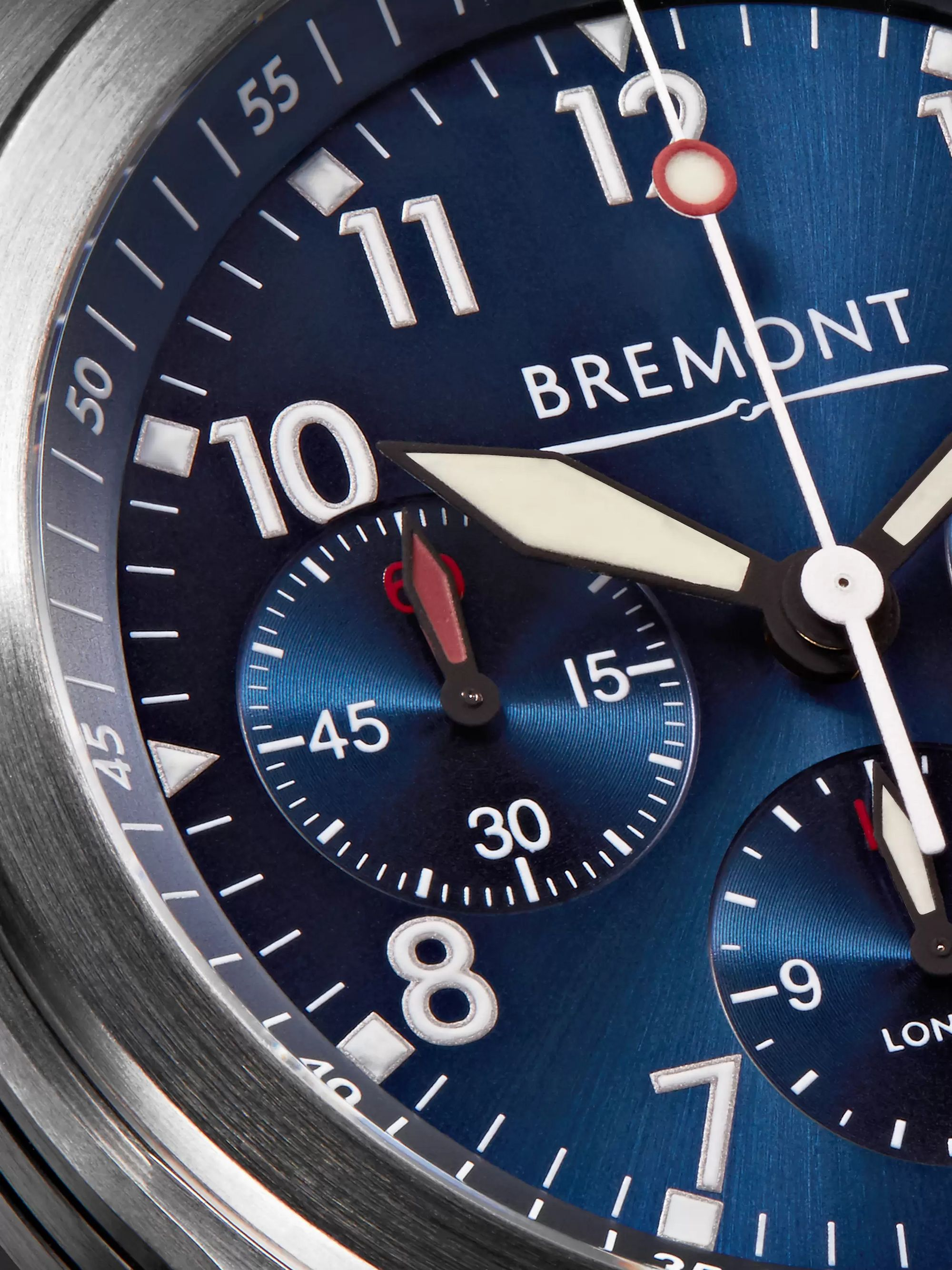 Bremont ALT1-P Automatic Chronograph 43mm Stainless Steel Watch
