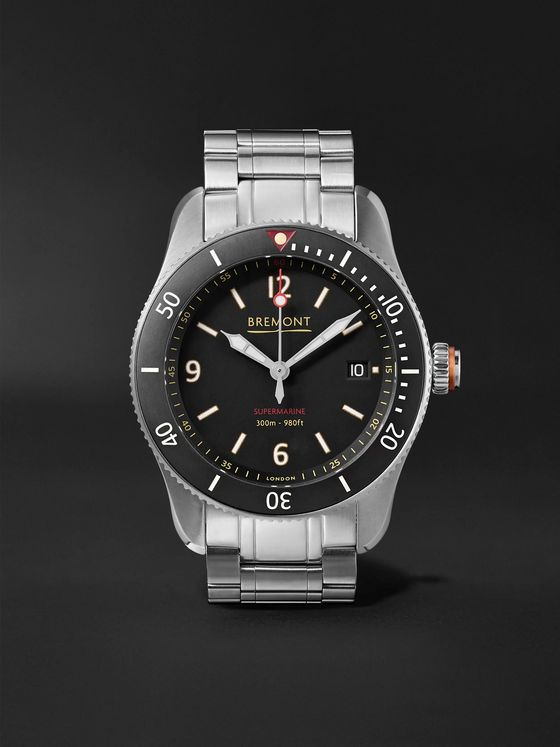 Bremont Supermarine Type 300 40mm Stainless Steel Watch