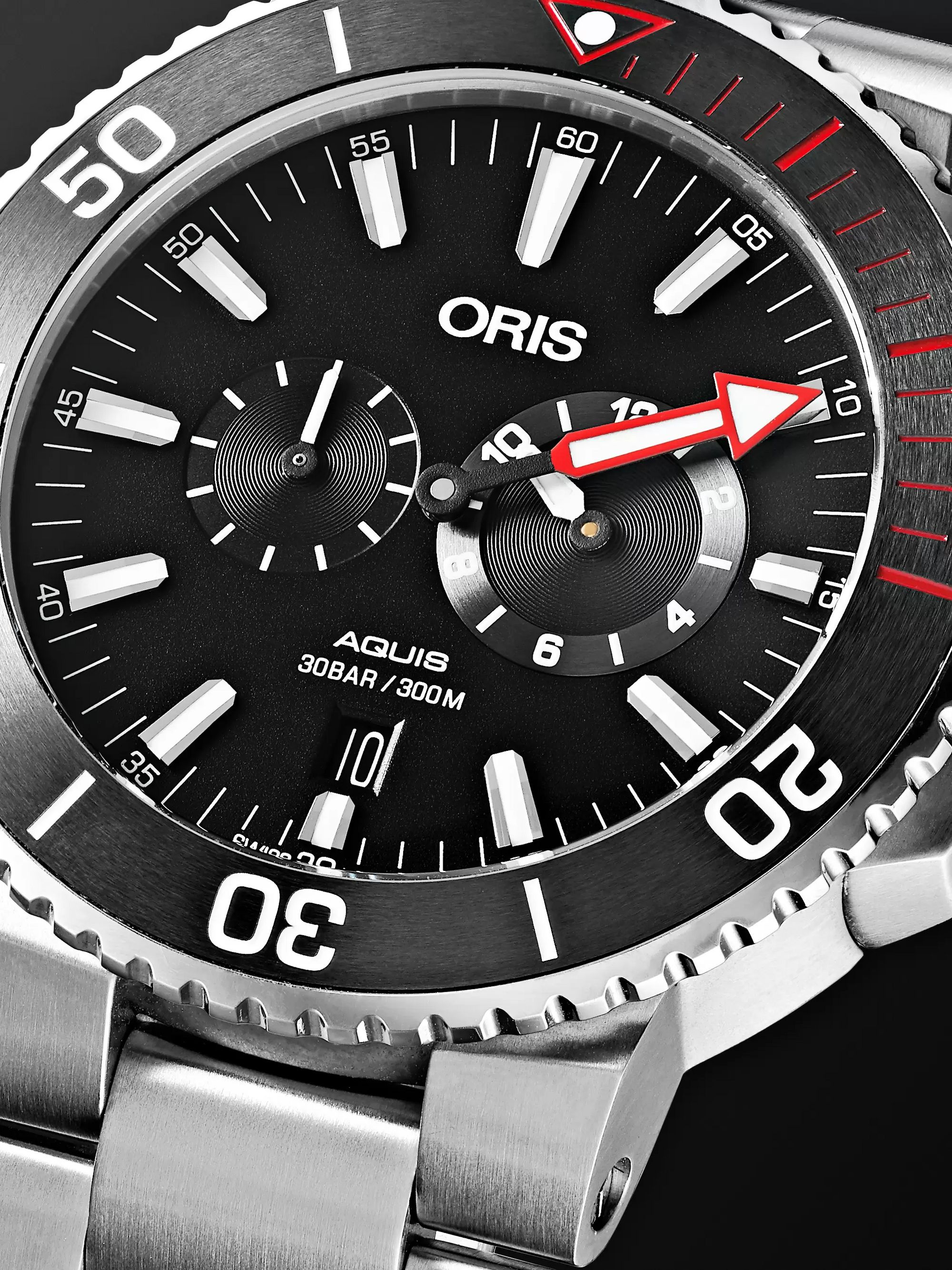 Oris Aquis Regulateur Der Meistertaucher Automatic 43.5mm Titanium Watch, Ref. No. 01 749 7734 7154-Set