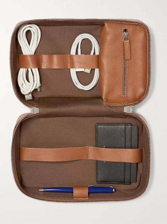 This Is Ground Leather Tech Bag