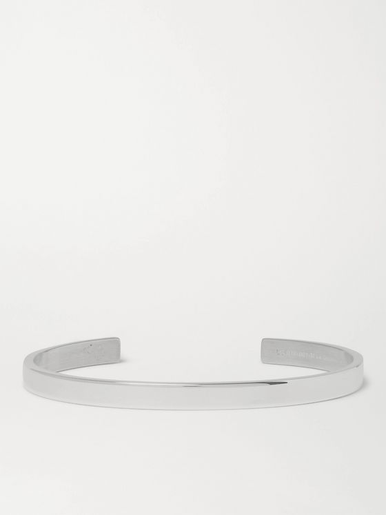 Le Gramme Le 15 Polished Sterling Silver Cuff