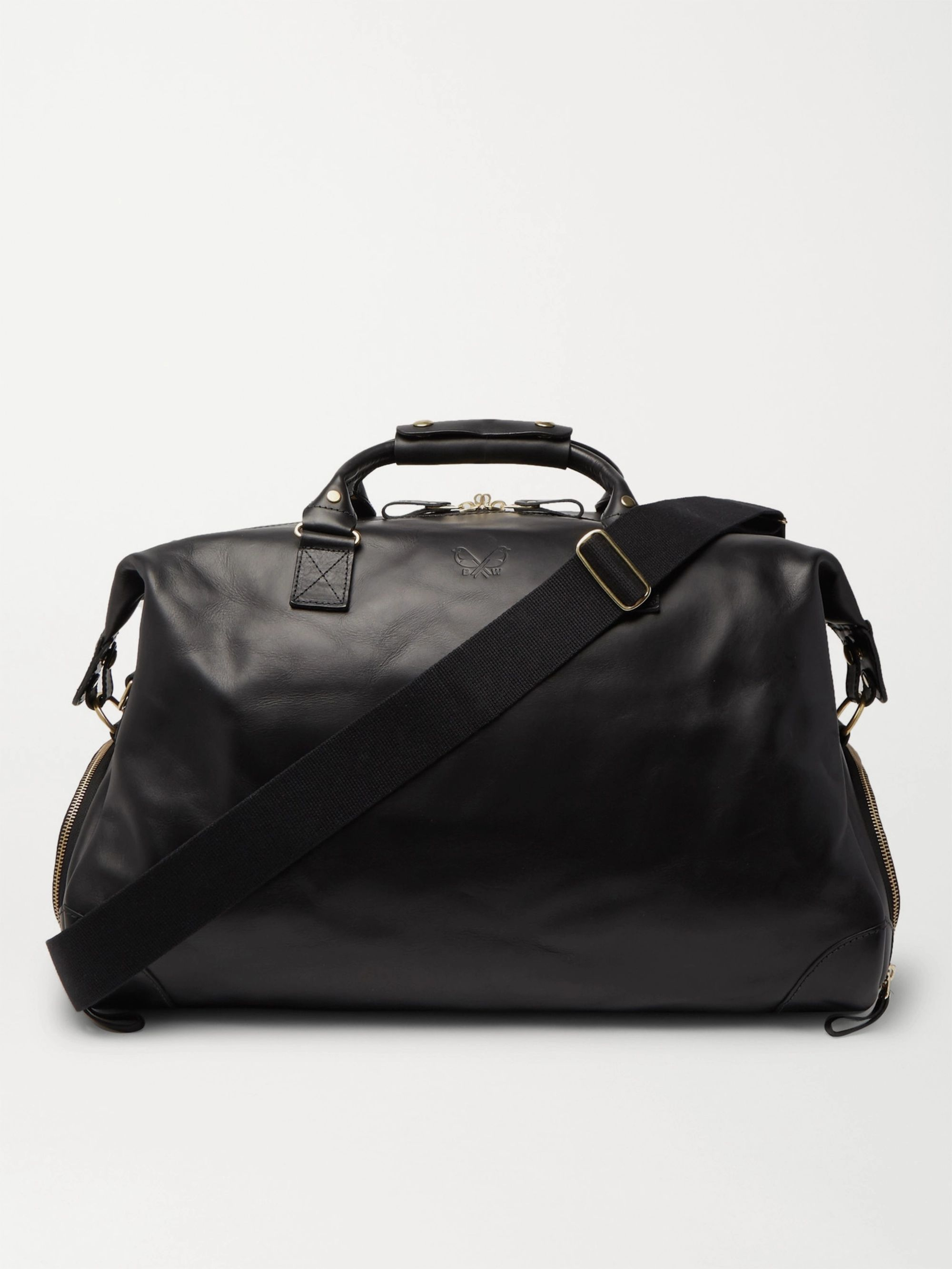 Bennett Winch Weekender Leather Holdall