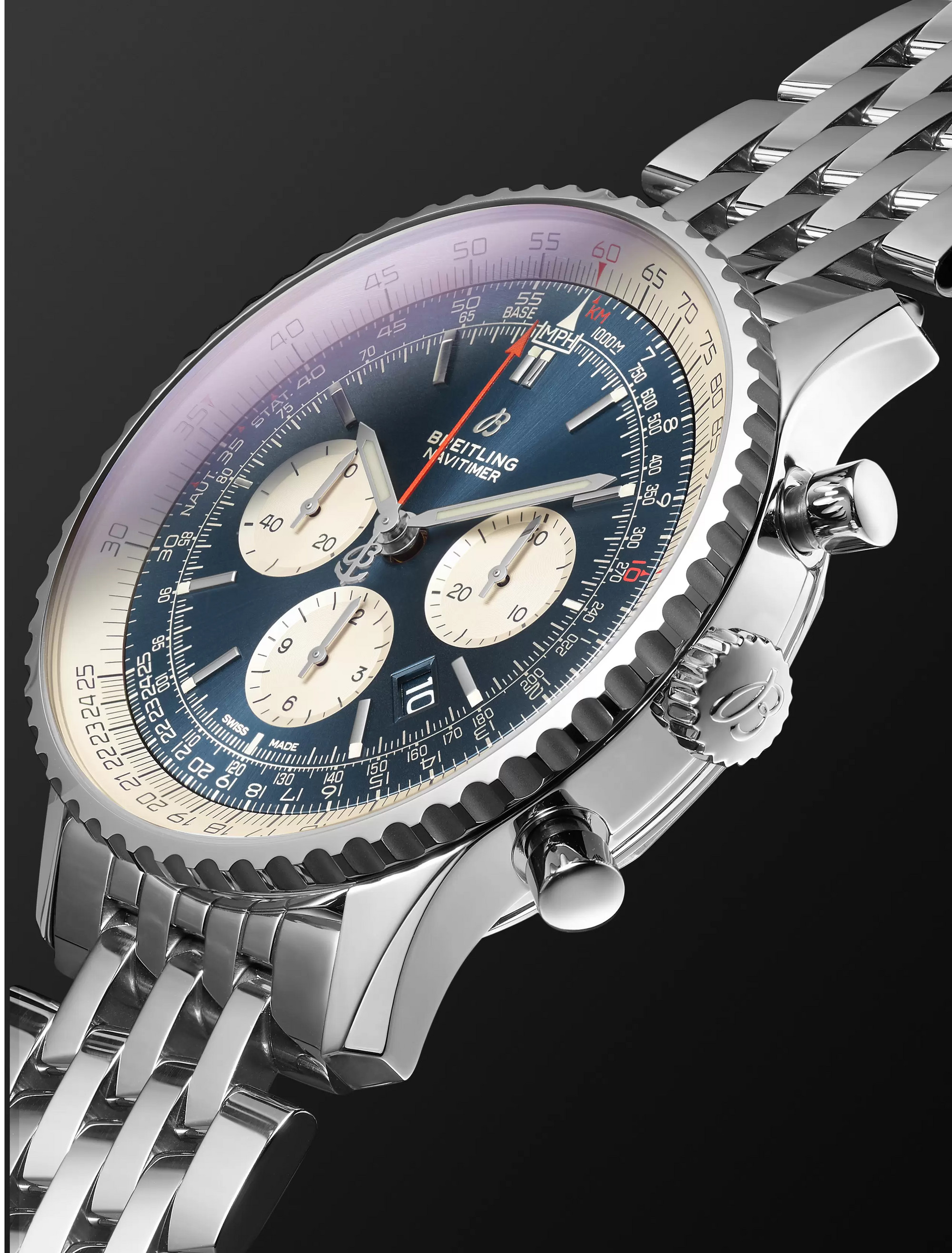 Breitling Navitimer 1 Chronograph 46mm Steel Watch
