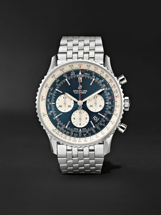 Breitling Navitimer B01 Automatic Chronograph 46mm Stainless Steel Watch, Ref. No. AB0127211C1A1